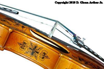 Hardanger Fiddle bridge