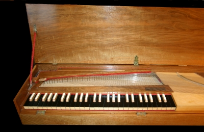 Clavichord by Otto Rindlisbacher