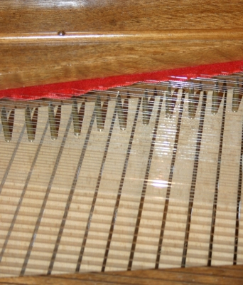 Clavichord tangents and strings