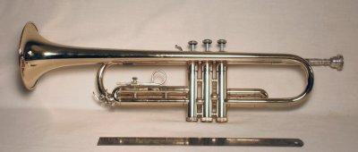 modern b-flat trumpet by bundy