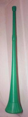 green vuvuzela